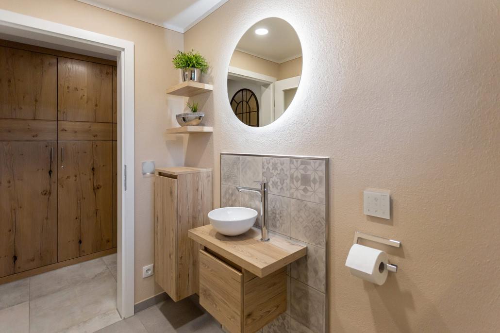 Badidee Gäste WC Wohnung I Mayer & Weilbach Sanitärfachbetrieb Behlingen Raum Krumbach